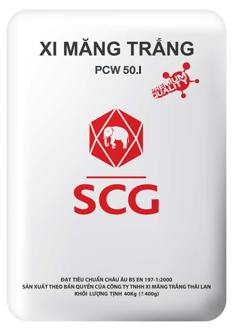 Xi măng trắng SCG